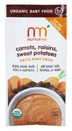 Nurturme - Organic Dried Baby Food 6+ Months Carrots, Raisins, Sweet Potatoes - 0.81 oz.