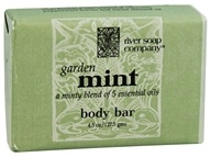 River Soap Company - Bar Soap Garden Mint - 4.5 oz.