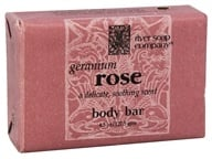 River Soap Company - Bar Soap Geranium Rose - 4.5 oz.