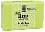 River Soap Company - Bar Soap Fresh Lime - 4.5 oz.