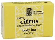 River Soap Company - Bar Soap Sweet Citrus - 4.5 oz.