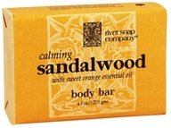 River Soap Company - Bar Soap Calming Sandalwood - 4.5 oz.