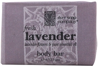 River Soap Company - Bar Soap Fresh Lavender - 4.5 oz.