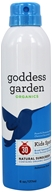 Goddess Garden - Kids Sport Natural Sunscreen 30 SPF - 6 oz. Formerly Sunny Kids Natural Sunscreen Continuous Sport Spray