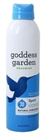 Goddess Garden - Sport Natural Sunscreen 30 SPF - 6 oz. Formerly Goddess Garden - Sunny Body Natural Sunscreen Continuous Sport Spray