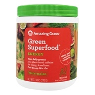 Amazing Grass - Green SuperFood Energy Drink Powder Watermelon - 7.4 oz.