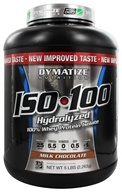 Dymatize Nutrition - ISO 100 100% Hydrolyzed Whey Protein Isolate Milk Chocolate - 5 lbs. LUCKY PRICE