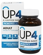 UP4 - Adult Probiotic Supplement with DDS-1 - 60 Vegetarian Capsules