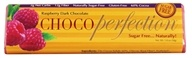 ChocoPerfection - Sugar Free Fine European Dark Chocolate Bar 60% Cocoa Raspberry - 1.8 oz.