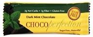 ChocoPerfection - Sugar Free Dark Chocolate 60% Cocoa Mini Bar Mint - 10 Grams