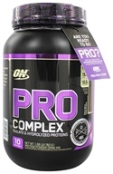 Optimum Nutrition - Pro Complex Isolate & Hydrolyzed Proteins Rich Milk Chocolate - 1.68 lb.