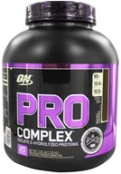 Optimum Nutrition - Pro Complex Isolate & Hydrolyzed Proteins Rich Milk Chocolate - 3.35 lbs.