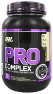 Optimum Nutrition - Pro Complex Isolate & Hydrolyzed Proteins Creamy Vanilla - 1.65 lb.