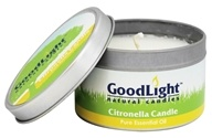 GoodLight Natural Candles - Citronella Candle Tin - 8 oz.