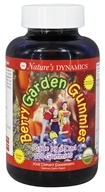 Nature's Dynamics - Berry Garden Gummies Whole Food Multivitamin Natural Cherry Flavor - 120 Gummies