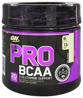 Optimum Nutrition - Pro BCAA Powder & Glutamine Support Unflavored - 10.9 oz.