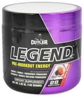 Cutler Nutrition - Legend JC Pre-Workout Energy Berry Splash 28 Servings - 4.93 oz.