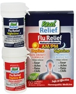 Homeolab USA - Real Relief Flu Day & Night Naturcoksinum - 60 Chewable Tablets