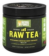 Natural Force - Raw Tea Pre-Workout Unflavored - 0.26 lbs.