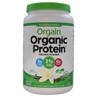 Orgain - Organic Protein Plant Based Powder Sweet Vanilla Bean - 2.05 lbs. /LUCKY PRICE
