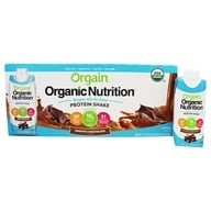 Orgain - Vegan Ready To Drink High Protein Nutritional Shake Smooth Chocolate - 12 Pack