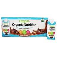 Orgain - Vegan Ready To Drink Complete Protein Shake Smooth Chocolate - 12 Pack