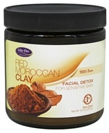 Life-Flo - Red Moroccan Clay - 12.5 oz.