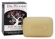 Dr. Woods - 100% Natural Raw Black Facial Cleansing Bar - 5.25 oz.