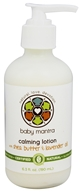 Baby Mantra - Calming Lotion with Shea Butter & Lavender Oil - 6.3 oz.