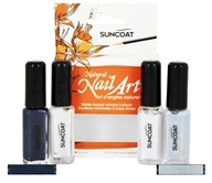 Suncoat - Water-Based Natural Nailart Kit Classic - 4 Piece(s)
