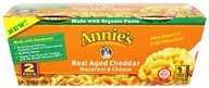 Annie's Homegrown - Organic Macaroni & Cheese Real Aged Cheddar - 2 Pack