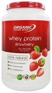 Organic Food Bar - Whey Protein 100% Natural Strawberry - 31.9 oz.