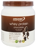 Organic Food Bar - Whey Protein 100% Natural Chocolate - 15.7 oz.