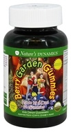 Nature's Dynamics - Berry Garden Gummies Whole Food Multivitamin Assorted Flavors (Cherry, Orange, & Apple) - 60 Gummies