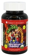 Nature's Dynamics - Berry Garden Gummies Whole Food Multivitamin Cherry - 60 Gummies