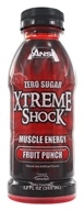 ANSI (Advanced Nutrient Science) - Xtreme Shock RTD Muscle Energy Fruit Punch - 12 oz.