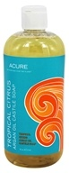 ACURE - Argan Oil Castile Soap Tropical Citrus - 16 oz. LUCKY PRICE