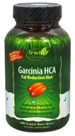 Irwin Naturals - Garcinia HCA Fat Reduction Diet - 90 Softgels