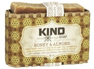Kind Soap Co. - Artisan Aromatherapy Bar Soap Honey & Almond - 4.5 oz.