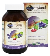 Garden of Life - mykind Organics Prenatal Multi Whole Food Multivitamin - 180 Vegetarian Tablets