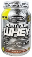 Muscletech Products - Platinum Essential Series 100% Whey Milk Chocolate Supreme - 2.01 lbs.
