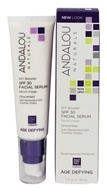 Andalou Naturals - Age Defying DIY Booster Facial Serum Unscented 30 SPF - 2 oz.