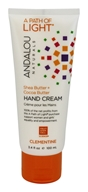 Andalou Naturals - A Path of Light Shea Butter + Cocoa Butter Hand Cream Clementine - 3.4 oz.