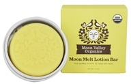 Moon Valley Organics - Moon Melt Lotion Bar Vanilla Lemon Vanilla Lemon - 1.9 oz.