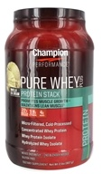 Champion Performance - Pure Whey Plus Protein Stack Vanilla Ice Cream - 2 lbs.