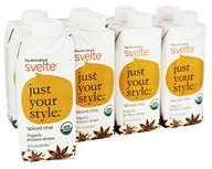Cal Naturale - Svelte Vegan Organic Protein Shake 8 x 11 oz. RTD Spiced Chai - 8 Pack