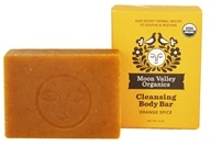 Moon Valley Organics - Cleansing Body Bar Orange Spice - 4 oz.