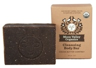 Moon Valley Organics - Cleansing Body Bar Cocoa Butter Comfrey - 4 oz.