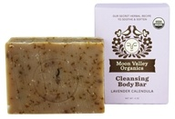 Moon Valley Organics - Cleansing Body Bar Lavender Calendula - 4 oz.