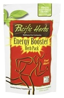 Pacific Herbs - Energy Booster Herb Pack - 0.21oz. x 5 Packets